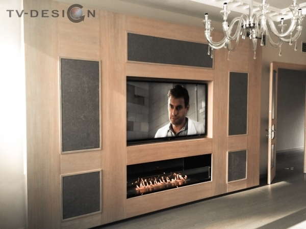 TVdesign акустика bowers & wilkins CT8.2 LCR и сабвуферы CT8 SW