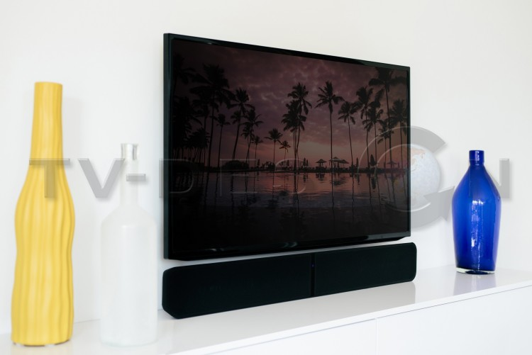 Hi-Fi стерео саундбар Bluesound PULSE SOUNDBAR 2i