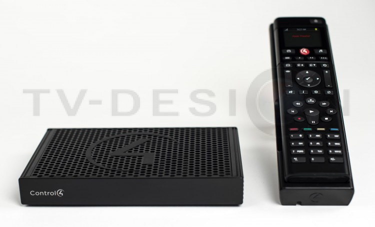 Комплект Control4 EA-1 V2 Entertainment Bundle W/Remote & Recharging Station